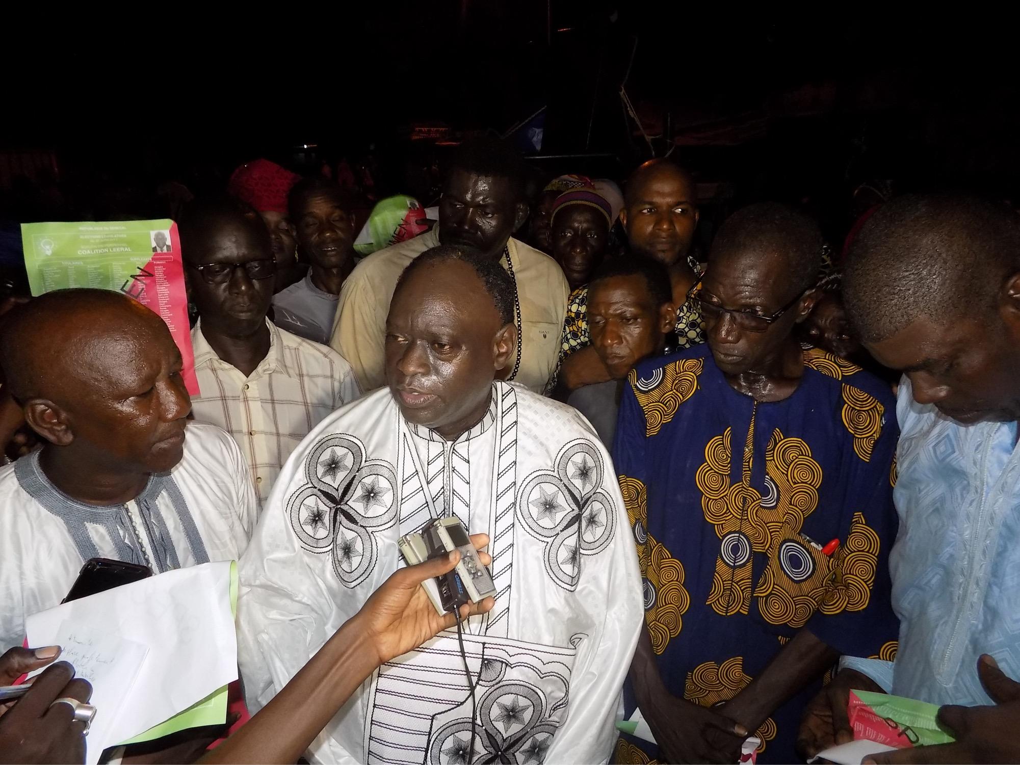 Incidents du stade Demba Diop : Me Elhadj Diouf de Leeral, dénonce « le laxisme dans la gestion de la sécurité des stades »