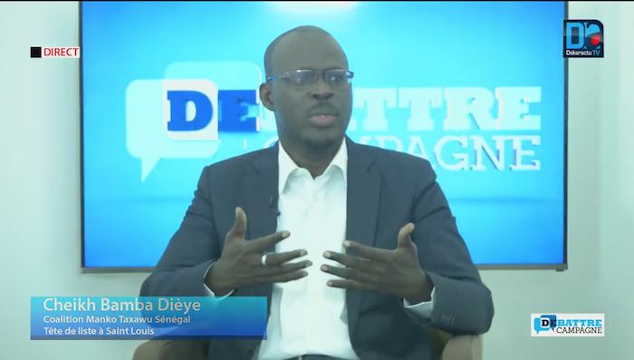 """Cheikh Bamba Dièye  (Mankoo Taxawu Sénégal) : """" Une bonne Assemblée nationale pour redresser le pays"""""""