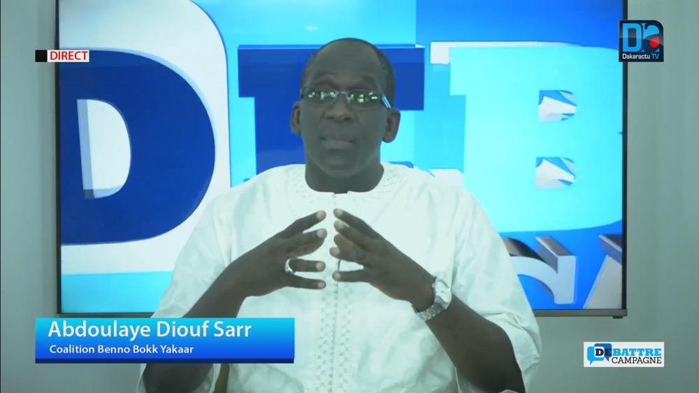 """Abdoulaye Diouf Sarr : """" Nous avons l'assurance du ministère de l'Intérieur que toutes les cartes seront disponibles """""""