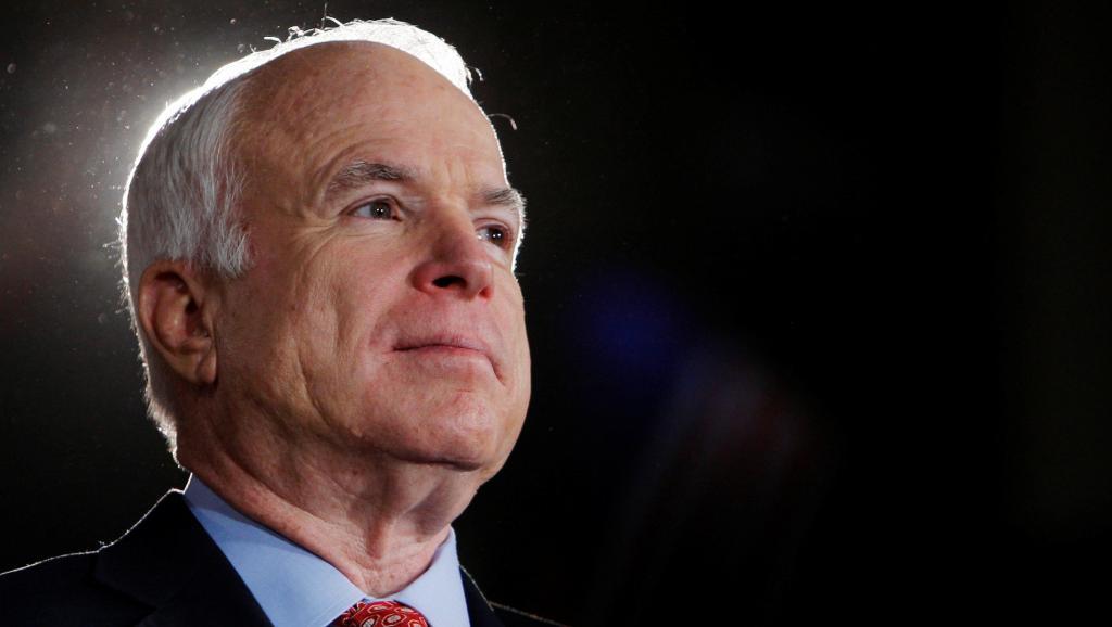 ETATS-UNIS : Le Sénateur républicain John Mc Cain atteint d'une tumeur au cerveau