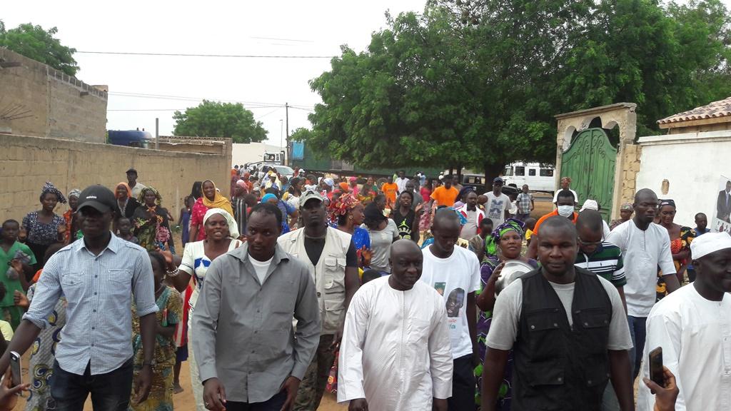 Thiénaba : La tête de liste départementale à Thiès de « Mankoo » vivement remerciée