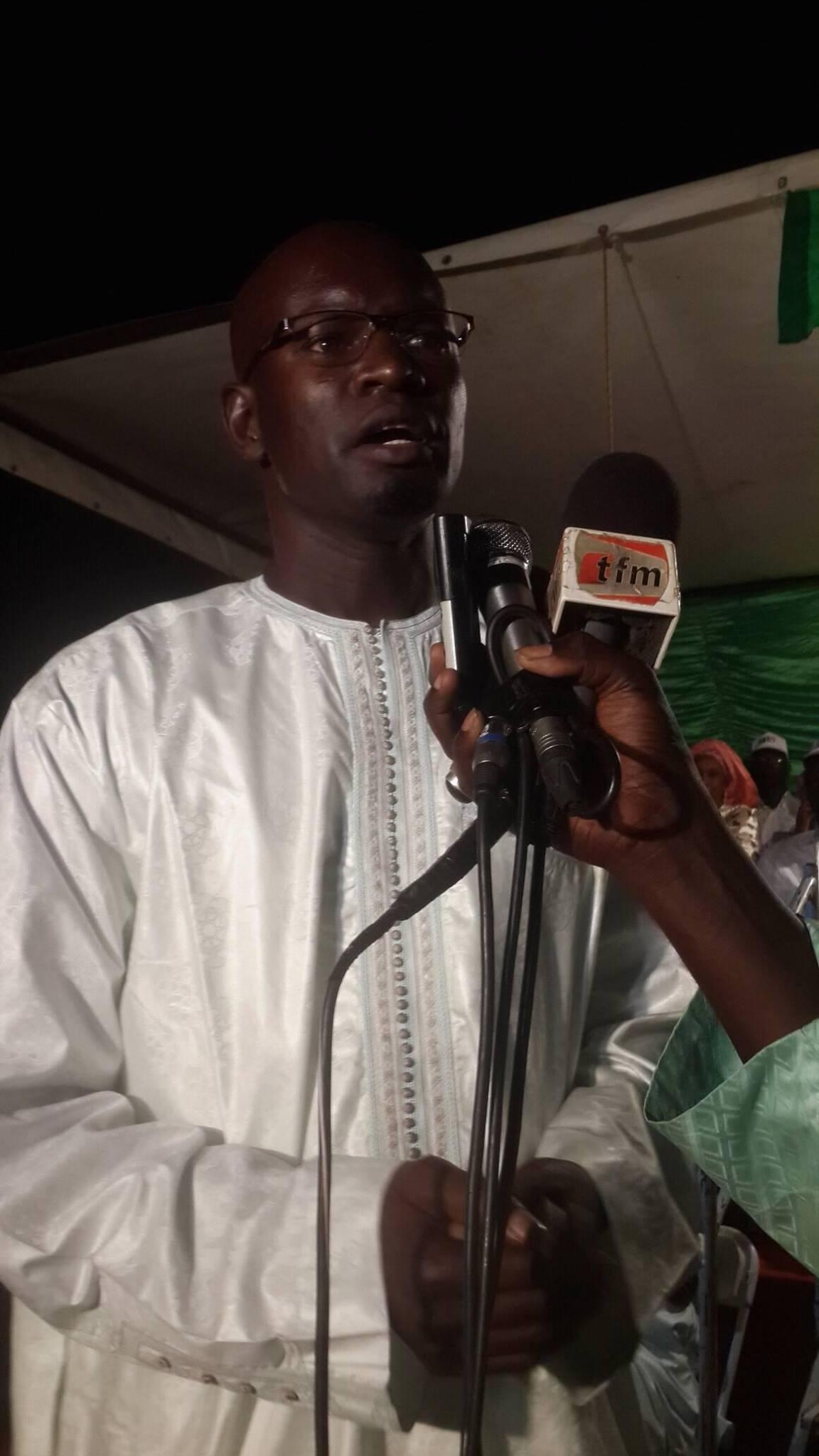Linguère :  Bounama Sall raille Me Wade et tacle la coalition «Taxawu Senegaal»