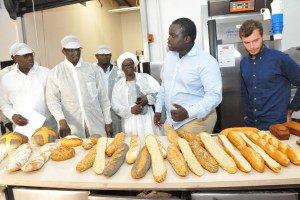 (20) Photos : AMADOU BA, MINISTRE DE L'ECONOMIE ET DES FINANCES VISITE UN CHAMPION DE L'ECONOMIE : EUROGERM