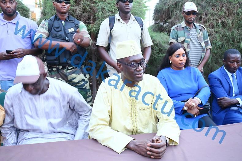 Législatives : Les images de la mobilisation du Dage Abdoulaye Ndour à Nord Foire