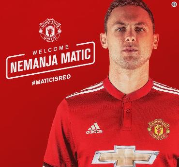Matic à Manchester Utd, c'est officiel