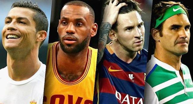 Forbes dévoile la liste des sportifs les mieux payés en 2017