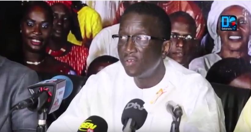 APRÈS SA VICTOIRE À DAKAR : Amadou Ba invite à l'instauration d'un climat de sérénité, de dialogue et de consensus