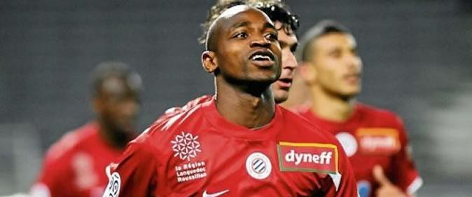 Souleymane Camara meilleur buteur de l'histoire de Montpellier en Ligue 1
