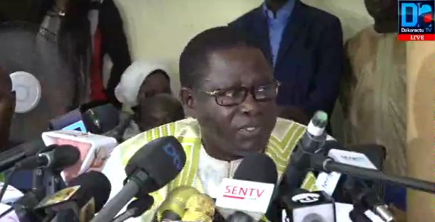 Pape Diop à l'endroit du Président Sall : « Le ministre de l'Intérieur doit dégager »