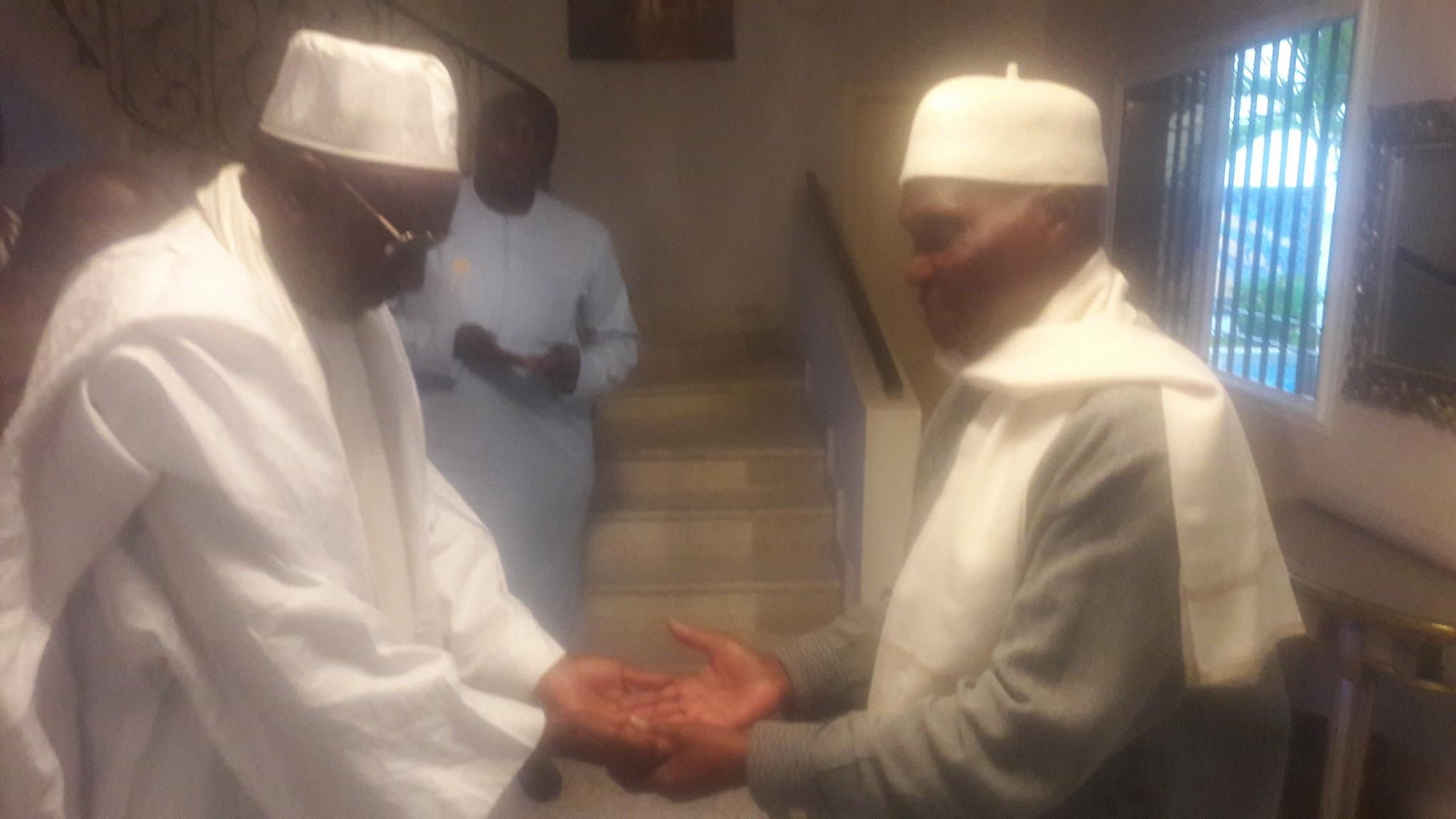 Visite de courtoisie : Le Khalife Thierno Madani Tall chez l'ancien chef de l'Etat Abdoulaye Wade