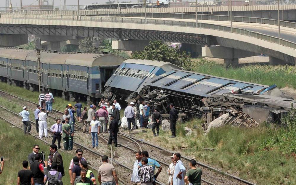 Egypte : Au moins 36 morts après la collision de deux trains