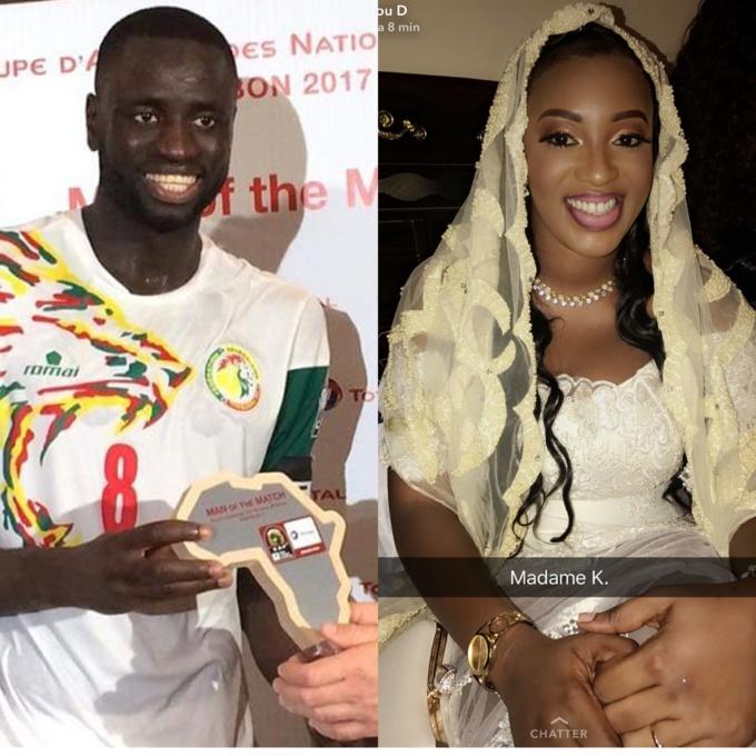AL KHAYRI : Le capitaine de l'équipe nationale Cheikhou Kouyaté s'est marié