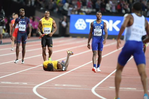 Bolt se blesse pour sa dernière course