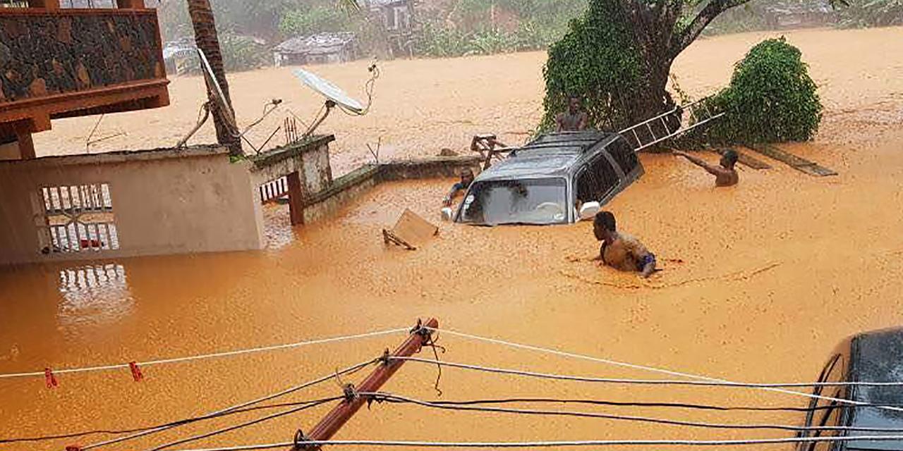 Sierra Leone : au moins 312 morts dans les éboulements et coulées de boue (bilan réactualisé)