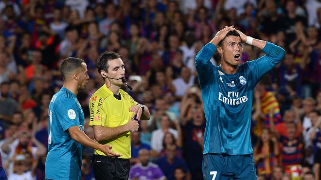 """ESPAGNE : Suspendu 5 matchs, Cristiano Ronaldo dénonce une """"persécution"""""""