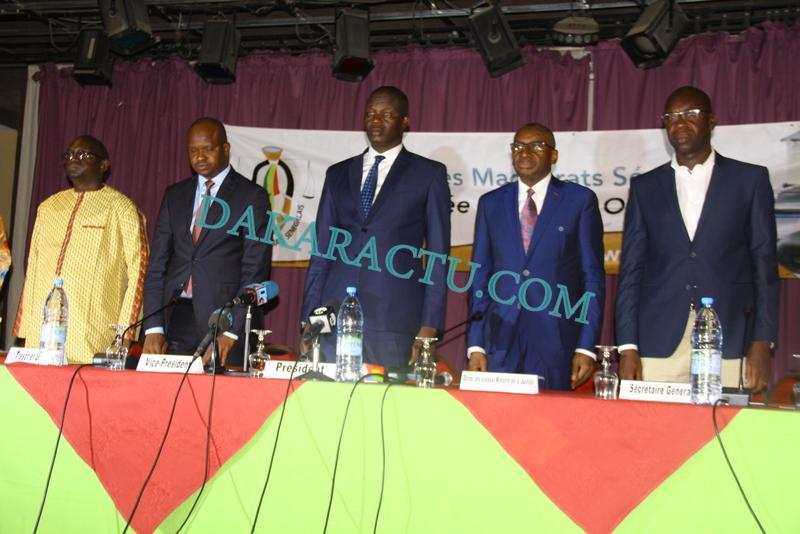 Assemblée Générale Ordinaire de l'UMS : La Grande plaidoirie du président Maguette Diop devant le garde des sceaux