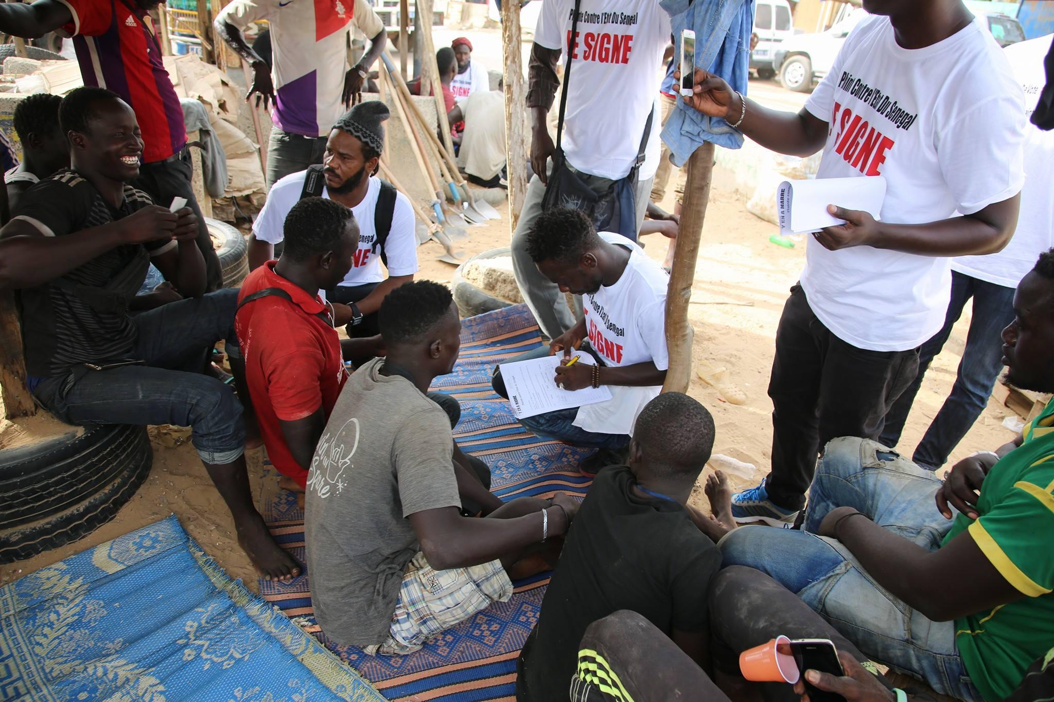 La plainte de Y'en a marre contre l'Etat du Sénégal enregistre plus de 7.000  signatures physiques et 750 signatures en ligne
