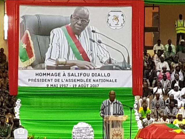 OBSÈQUES DE SALIFOU DIALLO : Abdou Mbow a représenté l'Assemblée nationale du Sénégal au Burkina Faso