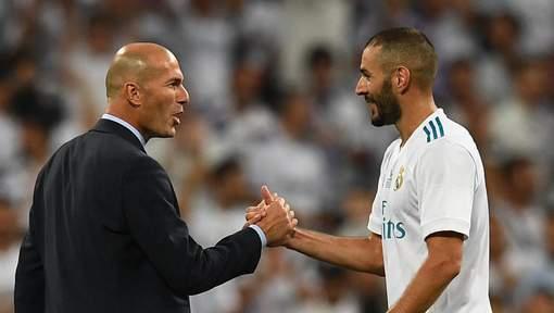 """Mondial-2018: Zidane défend Benzema, """"un joueur exceptionnel"""""""