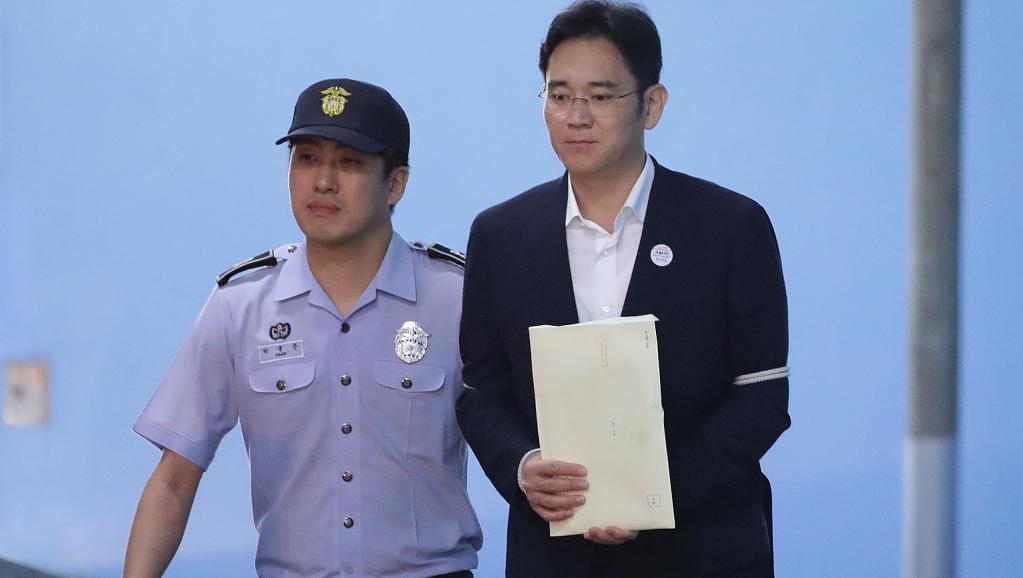 CORÉE DU SUD : L'héritier de l'empire Samsung fait appel de sa condamnation