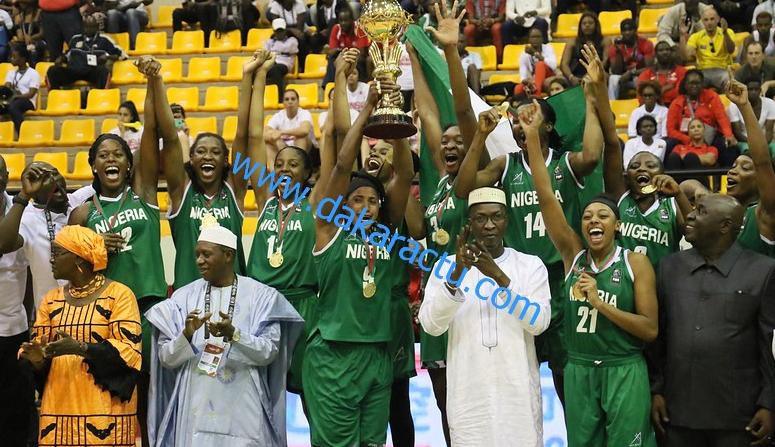 Afrobasket 2017 : Le sacre des Nigérianes face aux Lionnes (images)