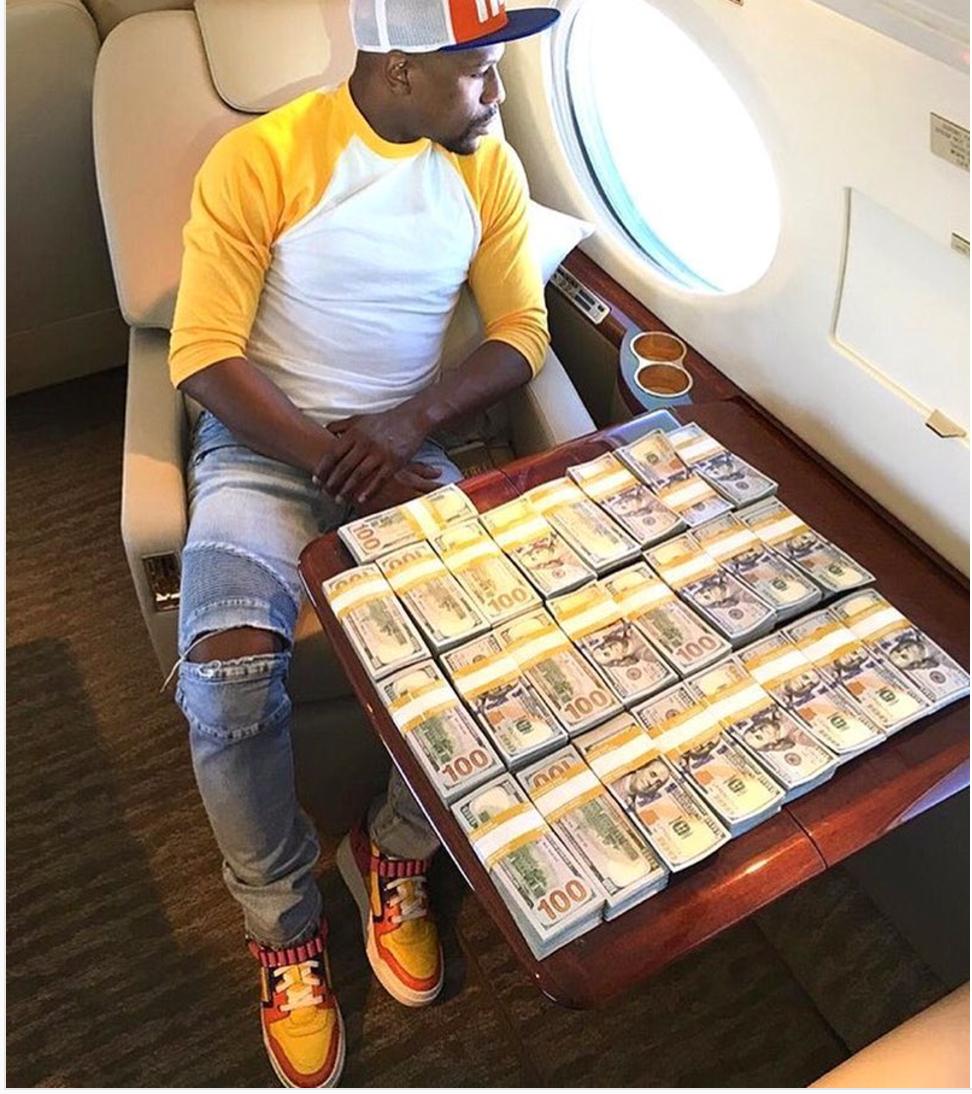 Mayweather a voulu parier 400.000 dollars sur sa victoire contre McGregor