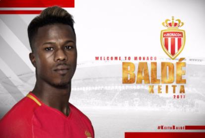 Officiel : Baldé Keïta s'est engagé avec l'AS Monaco.