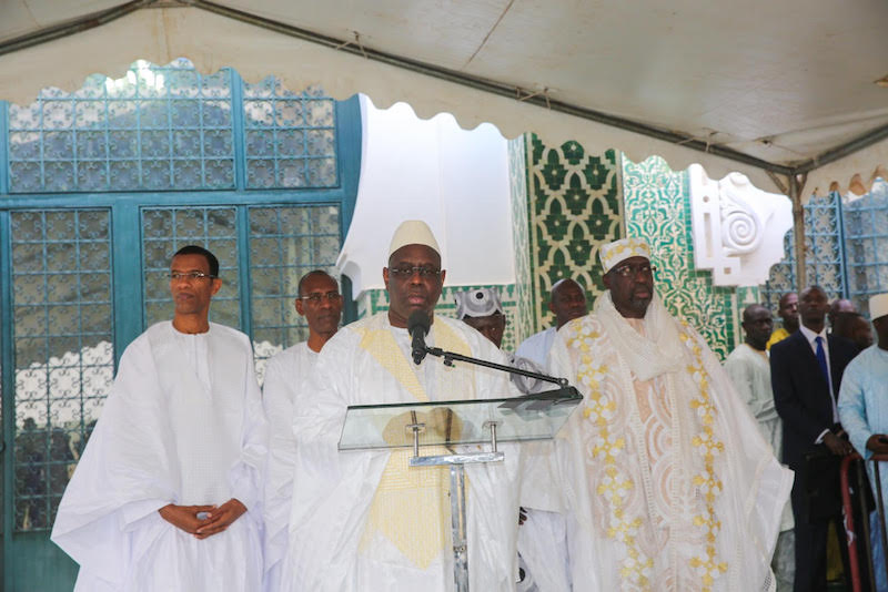 """TABASKI DANS LA DIVISION - Macky trouve que """" c'est un problème """" que Chefs religieux, Imams et Oulémas doivent régler très vite et qui engage leurs responsabilités"""