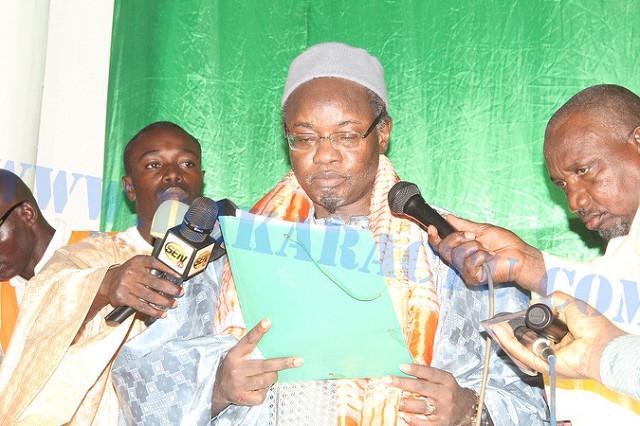 """Serigne Moustapha Abdou Khadre Imam de Massalikoul Djinane : """" L'attitude de Ismaël, fils de Ibrahim, devrait servir d'exemple à la jeunesse sénégalaise """""""
