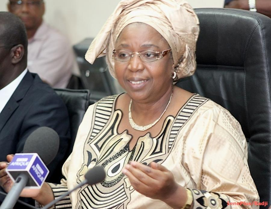 Awa Marie Coll Seck promue ministre d'Etat