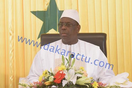 PALAIS DE LA RÉPUBLIQUE : Le Président Macky Sall reçoit les Députés de Benno Bokk Yakaar