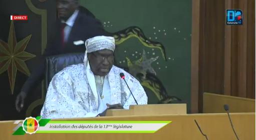 Abdoulaye Makhtar Diop, « président de l'Assemblée nationale » le temps de…