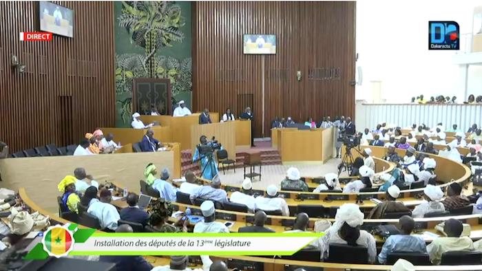 ASSEMBLÉE NATIONALE : Les vice-présidents confirmés par 152 des voix