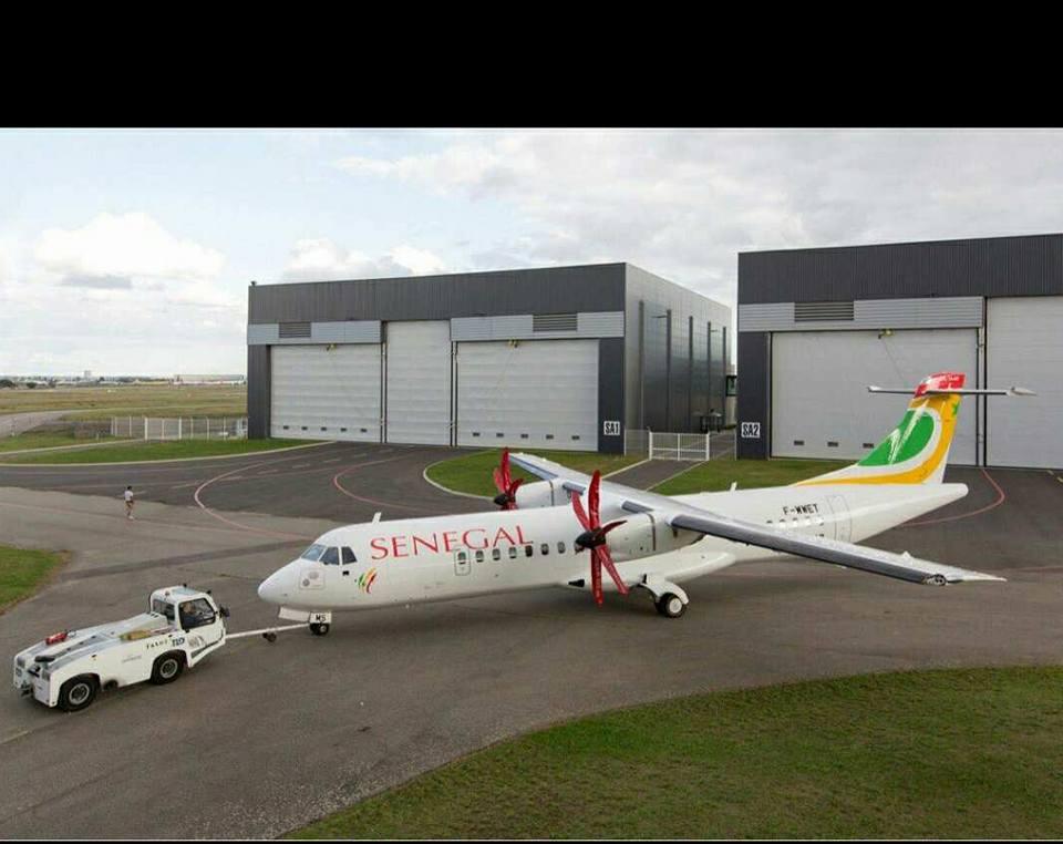 Les avions qui constitueront la flotte de la nouvelle compagnie Air Sénégal