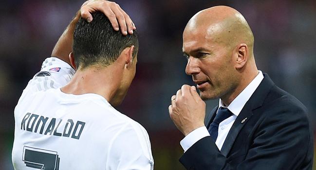 REAL : Zidane prend la défense de Ronaldo