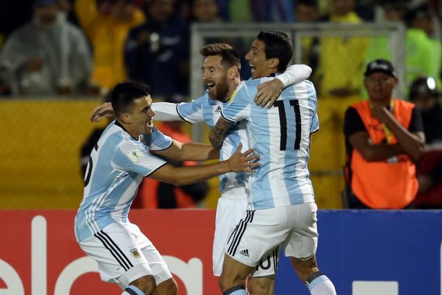 Un fantastique Lionel Messi envoie l'Argentine à la Coupe du monde en Russie