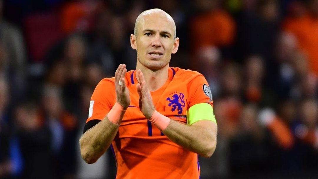 Pays-Bas : Arjen Robben met un terme à sa carrière internationale