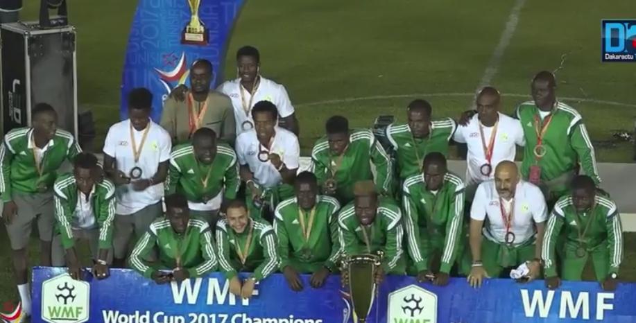 Mini-foot : Le beau parcours du Sénégal à la Coupe du Monde