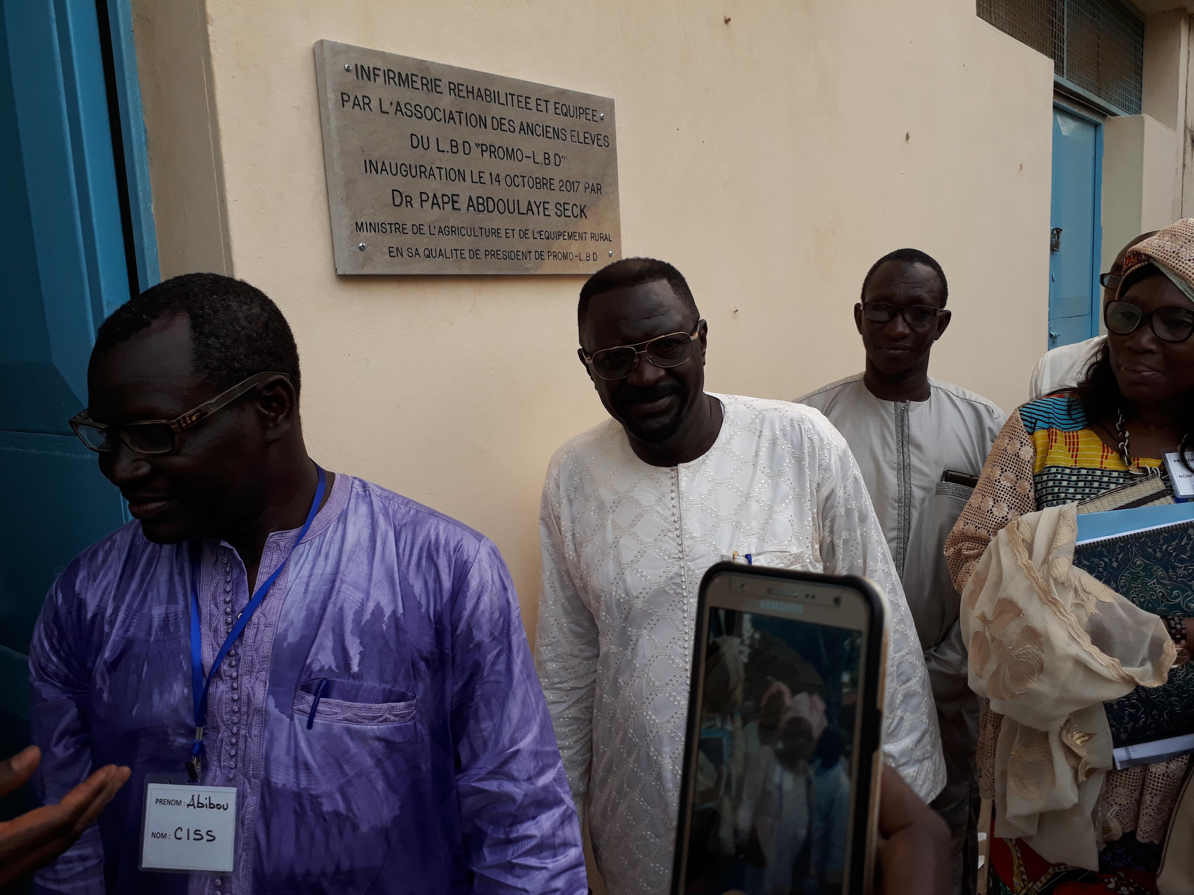 Lycée Blaise Diagne : La PROMO-LBD réhabilite et équipe l'infirmerie