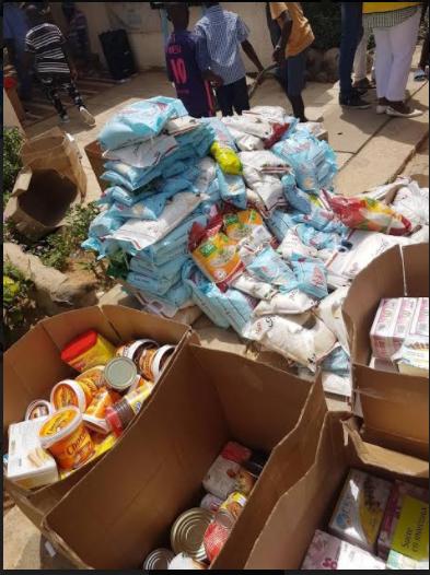 Don de vivres : Les Lion's Clubs du Sénégal appuient trois associations