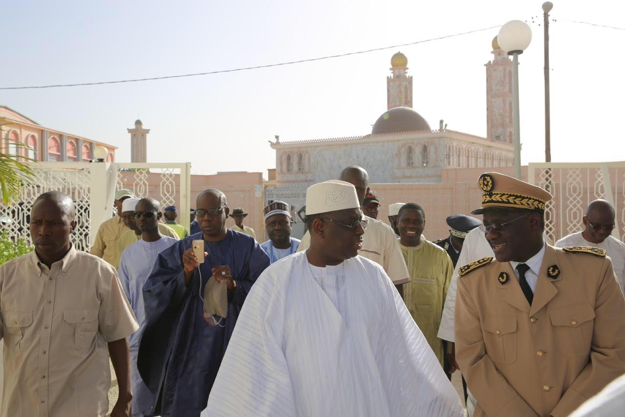 RAPPEL À DIEU DE SOKHNA FATSY MANSOUR : Le Président Macky Sall a présenté ses condoléances à la famille de Seydi Hadj Malick