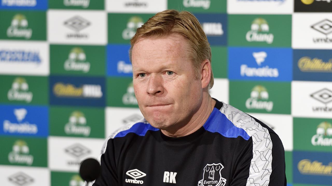 Ronald Koeman n'est plus l'entraîneur d'Everton