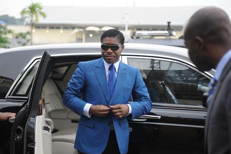 """""""Biens mal acquis"""" : Teodorin Obiang condamné en France à 3 ans de prison avec sursis, 30 M EUR d'amende avec sursis"""