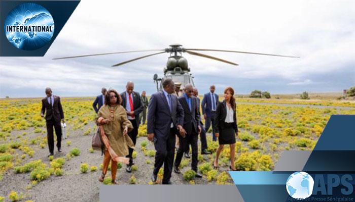 AFRIQUE DU SUD : Macky Sall sur les traces de Madiba à Robben Island