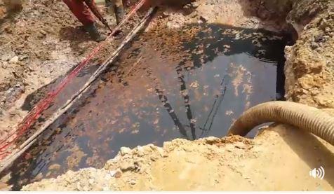 Thiaroye sur mer : Un pipeline de la Sar endommagé installe la psychose