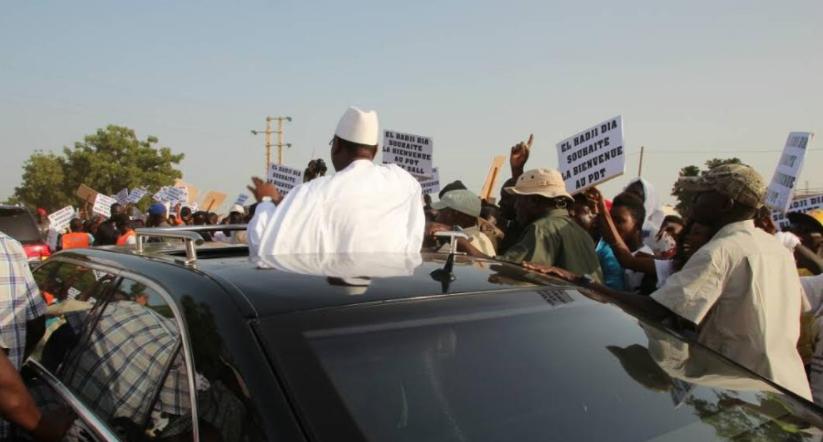 TOUBA - Le Président Macky Sall prend la route, fait une escale à Bambey et fait cap sur la cité religieuse