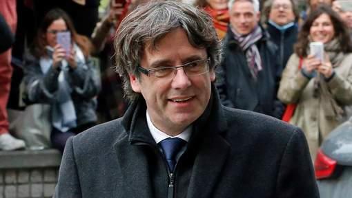 Carles Puigdemont s'est rendu à la police belge