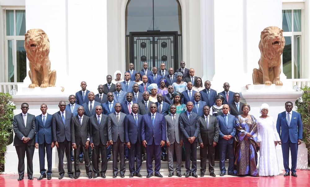 Communiqué du conseil des ministres du Lundi 6 Novembre 2017