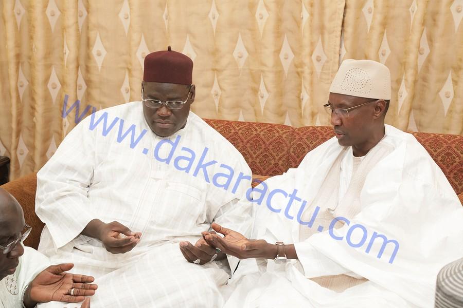 Les images de la visite de Mamour Diallo, directeur des Domaines chez Serigne Bass Khadim Awa Ba