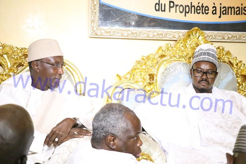 Résidence Khadim Rassoul : Les images de la visite de Mamour Diallo à Cheikh Bass Abdou Khadre